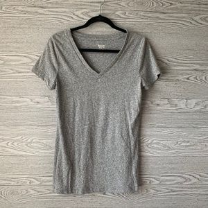 Mossimo Basic Gray Short Sleeve T-Shirt